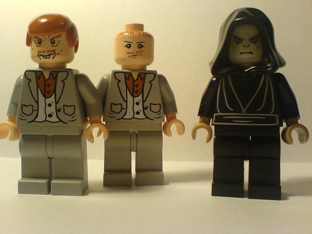 Peter Pettigrew (2x) and Lord Voldemort - 104.5KB