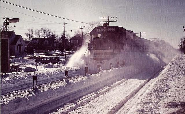 Snow day - LIRR 270