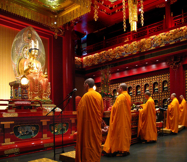 Buddha Tooth Relic Temple – Hundred Dragons Hall