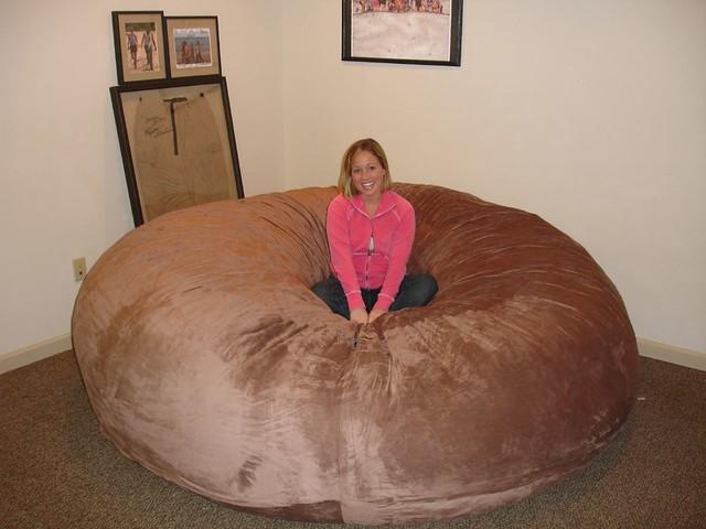 Cool Huge Bean Bag Chair Lovesac Love Sac Comfy Sack Fombag Flickr Machost Co Dining Chair Design Ideas Machostcouk