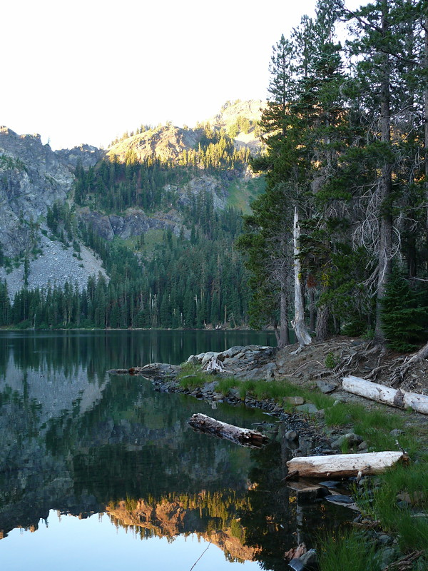 Cliff Lake Backpacking Trip, Marble Mountain Wilderness, California, Aug 2007