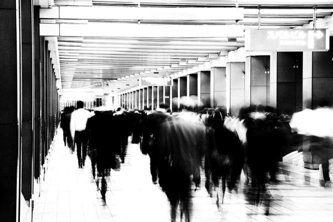 「沈黙の鏡 Mirror of Silence」 001 <共生 Symbiosis>4-5
