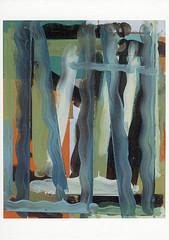 croxcard 15 ignace de vos (1997) VOORLOPIG<br /> acryl en p.t. op doek 80x65cm