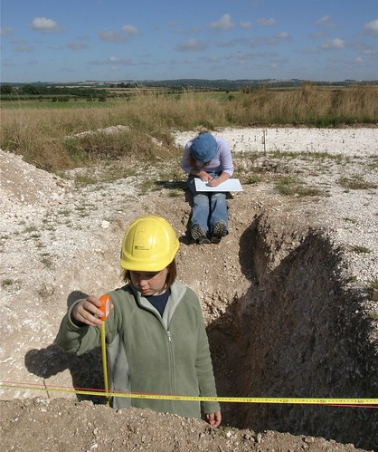 Training 2 - measuring | by Wessex Archaeology
