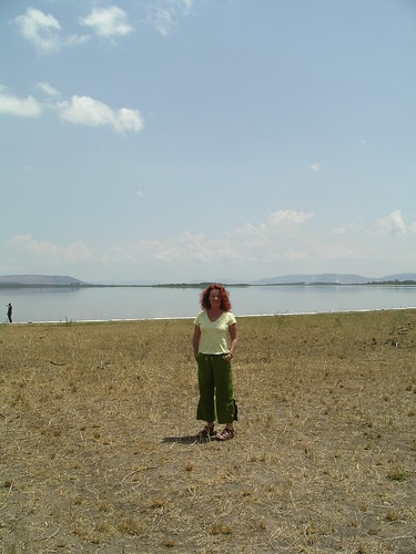 Cath with Lake Hago in bkgrd | by colleen_taugher