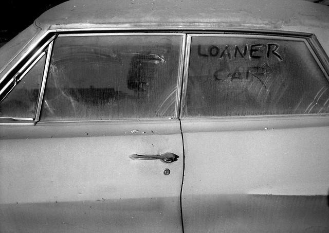 Loaner car,  Oakland California