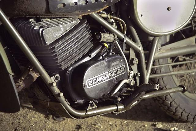 Can-am Bombardier - Rotax 250cc engine | British army spec