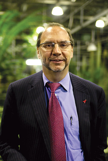 Peter Piot | picture for www schamper be Dr  Peter Piot is U… | Flickr