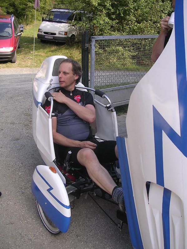 Leitra velomobile