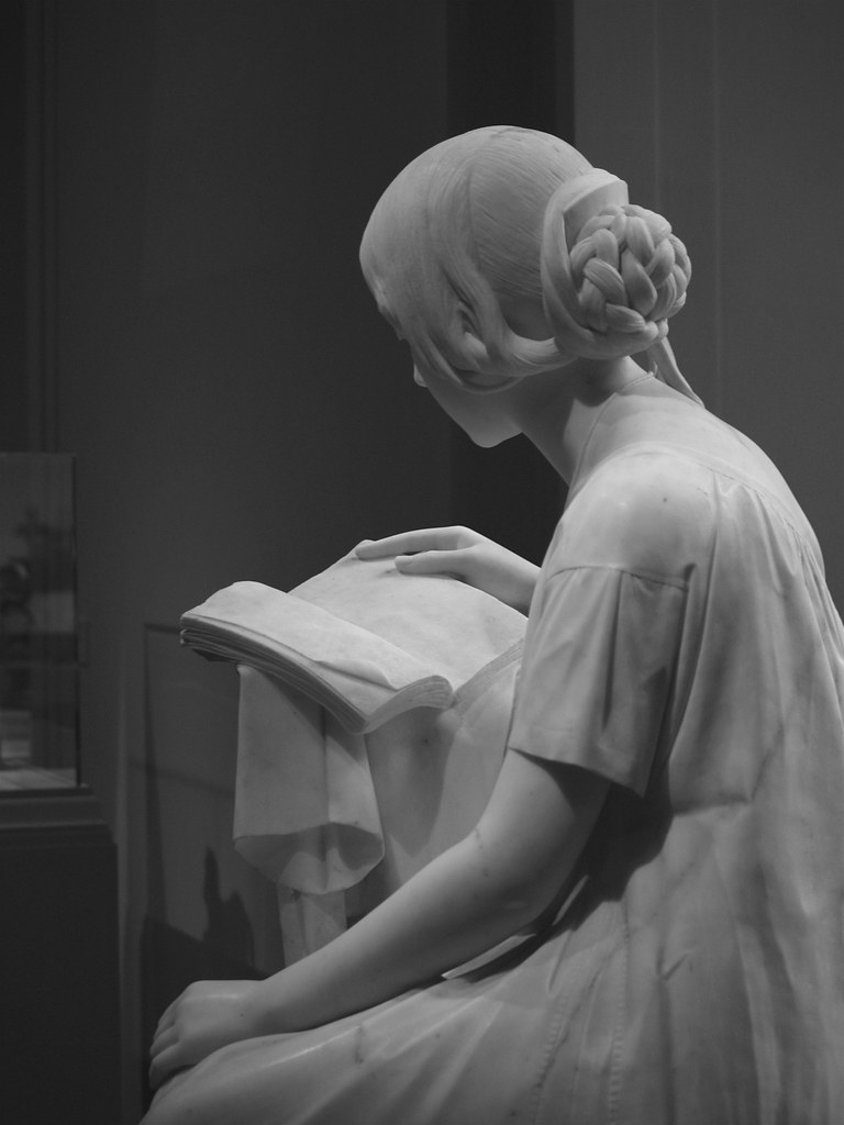 Reading Giovanni Battista Niccolini, National Gallery of Art (Washington, DC)