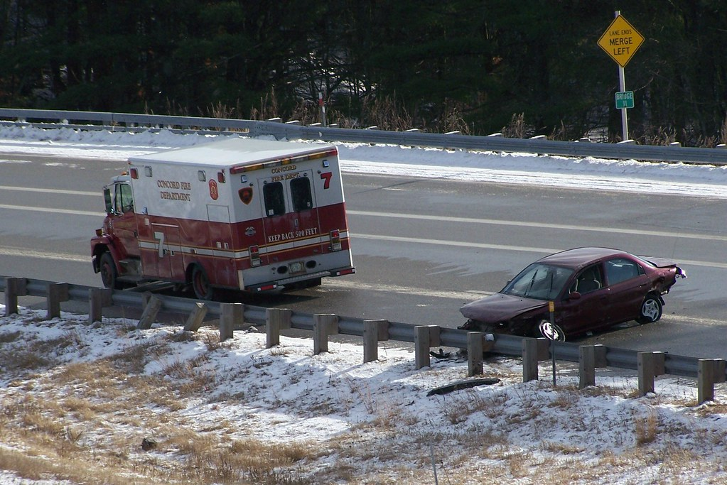 Concord NH motor vehicle accident | I 393 crash | Brian Blackden