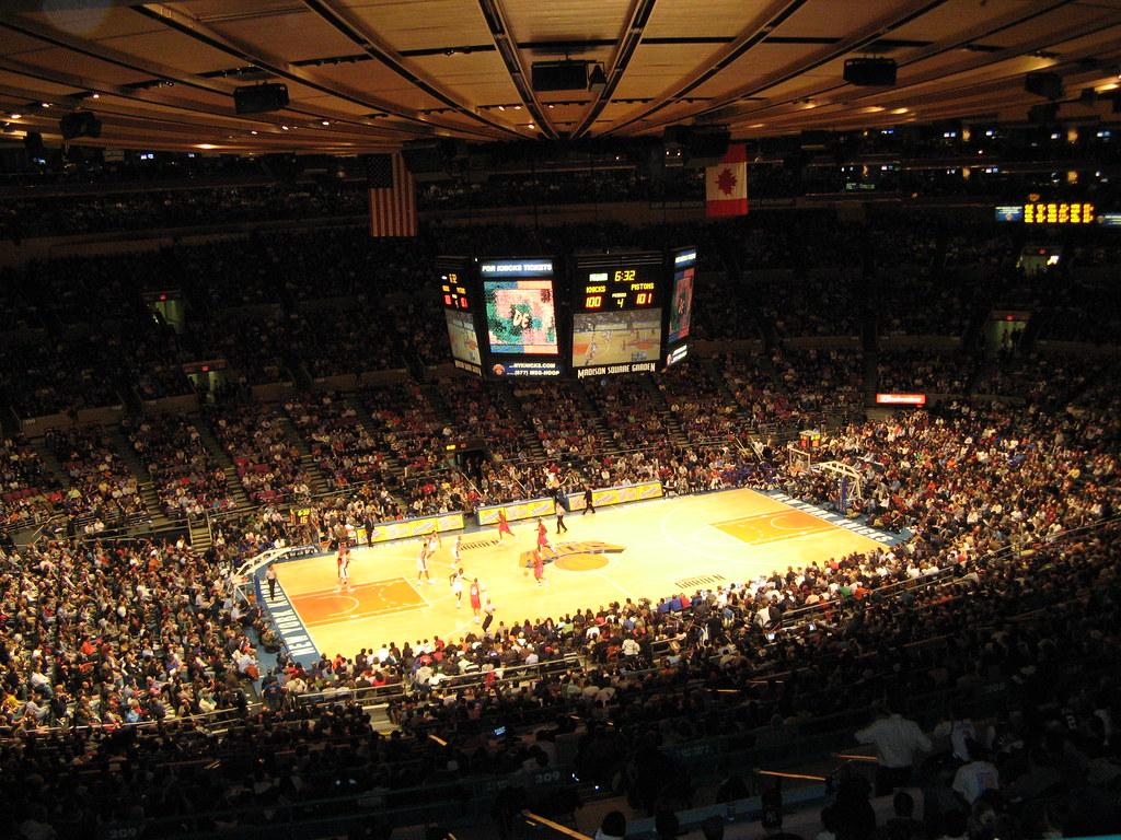 Madison Square Garden New York Knicks Madison Square Gar Flickr