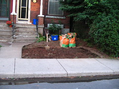 My front yard, all ready for planting | by Kathleen Farley