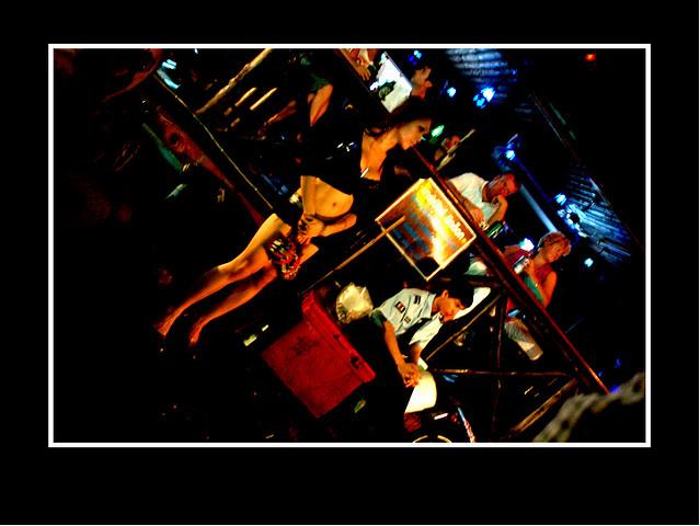 Bangkok Street Nightlife near Sukhumvit Soi 4