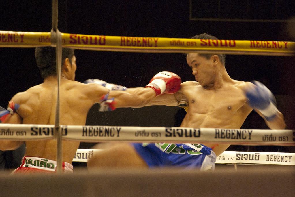 Muay Thai | Muay thai fight in Bangkok Thailand Unknow area … | Flickr
