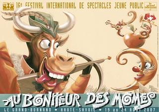 Affiche Festival Au Bonheur des Momes-2007 | by Le Grand-Bornand