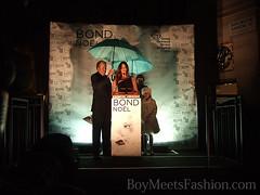 Lisa Snowdon switches on Bond Steet Christmas Lights 2010