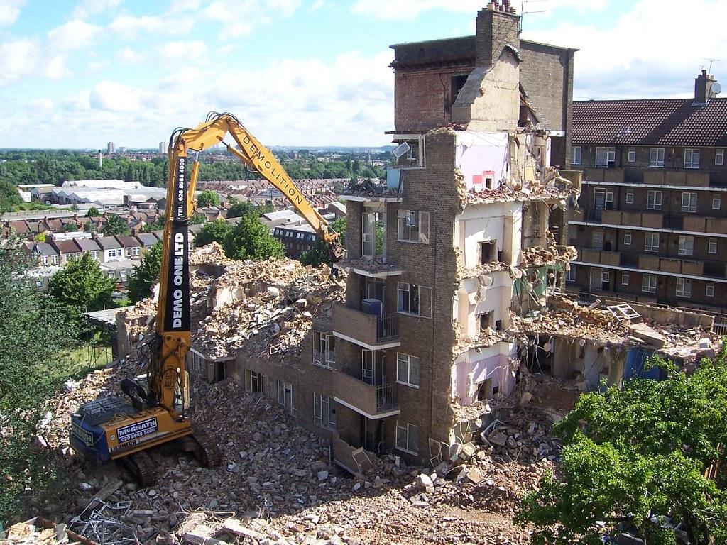 Wychwood House - Demolition