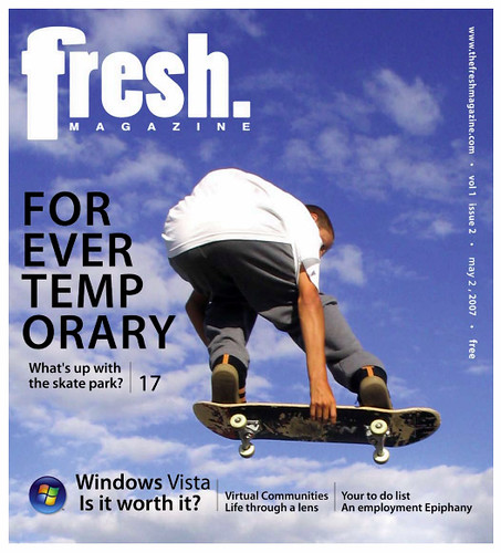 Danny Lepage - Cover of FRESH Magazine | by superiorskate