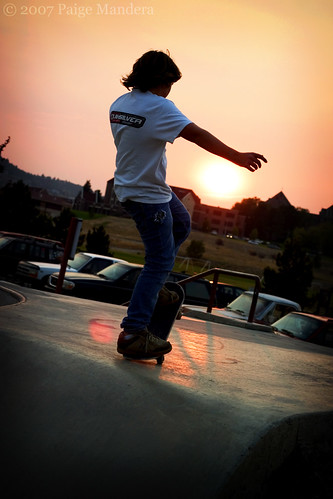 sunset canon interestingness skateboarding 2007 i500 interestingness334 paigelynn thebiggestgroup ©paigemandera explore20sept07 helenaskatepark