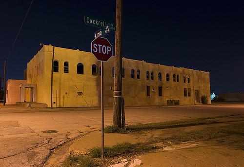 night dallas texas movieset littlebaghdad