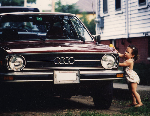 washing the car | by SouleMama