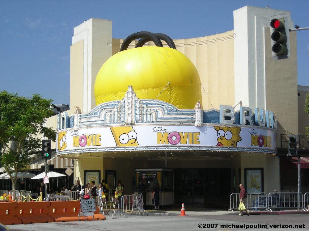 Mann Bruin Theatre Westwood Village California The Simpson Flickr