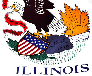 "Chicago - Michigan Avenue Bridge ""Illinois Flag"" | by David Paul Ohmer"