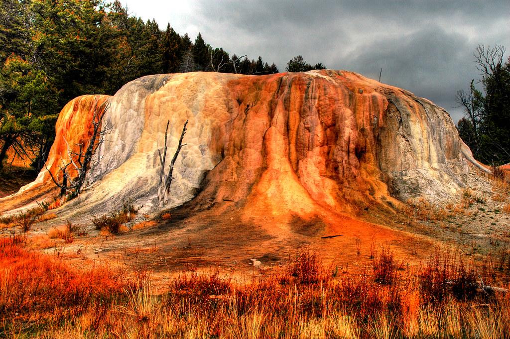 Orange Spring Mound, Mammoth Hot Springs, Yellowstone Nati… | Flickr