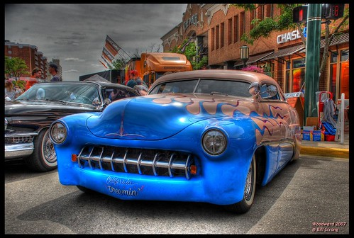 mercury detroit custom hdr streetrod 2007 photomatix woodwarddreamcruise 2exp d80 4elvis