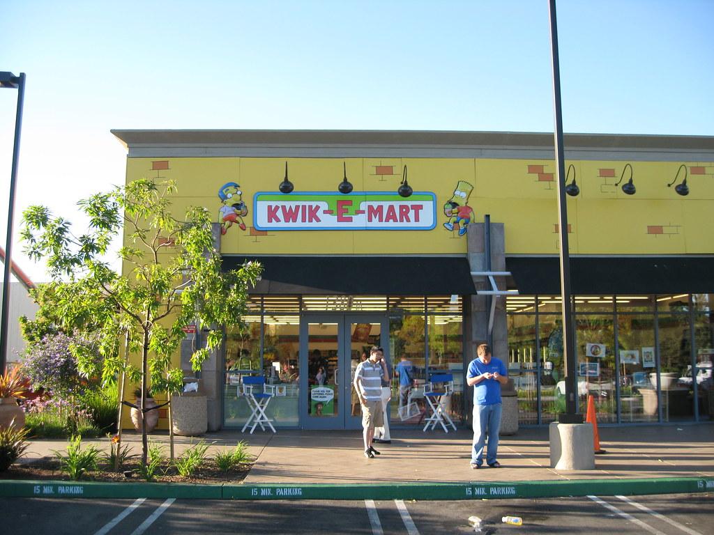 Kwik E Mart Storefront Mlaaker Flickr