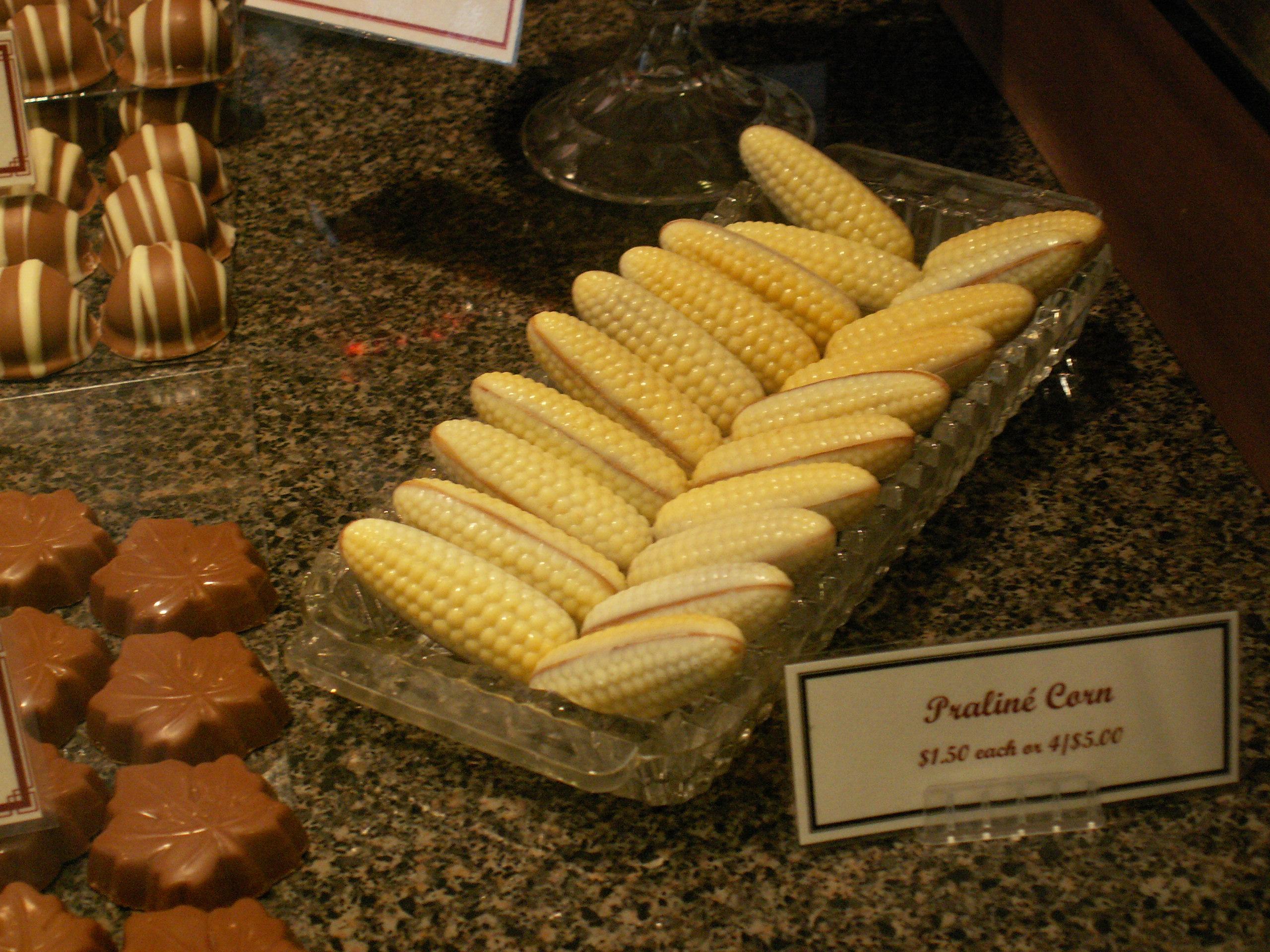 Chocolaterie Stam: Baby Corn