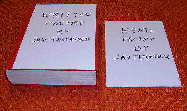 Written Poetry by Jan Theuninck