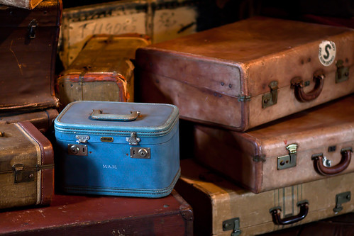 Blue Suitcase | by Drew Coffman