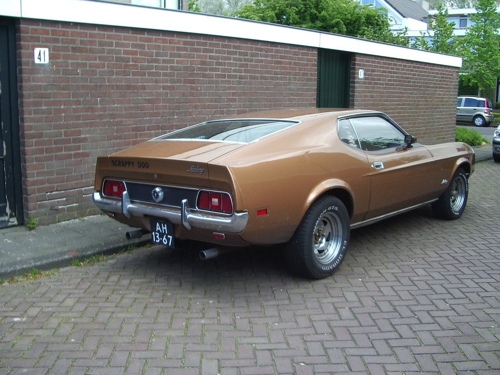 1972 ford mustang sportsroof by skitmeister