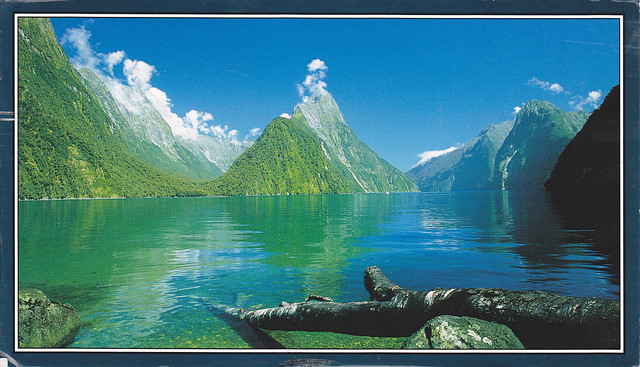 New Zealand, Milford Sound Postcard