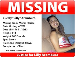 MISSING Lilly Aramburo | by seoyogini