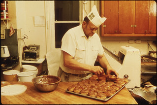 Homemade Bread and Sweet Rolls Are Made Daily by Jim Tillman of Tillman's Bakery... | by The U.S. National Archives