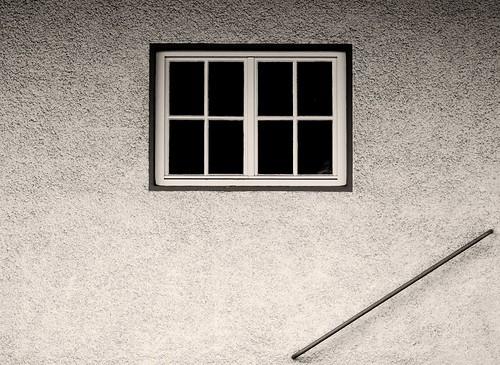 window fenster wand handrail geländer