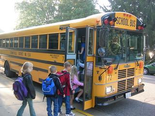 First school bus ride | by tyhatch
