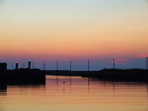 sunset sea sky geotagged harbor geolat343305758 geolon1347267844