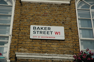 A Day in London - 221B Baker Street - Sherlock Holmes   by Cindy Andrie