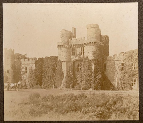 'Ruins' of Herstmonceux Castle, Sussex (late 1800s?) | by whatsthatpicture