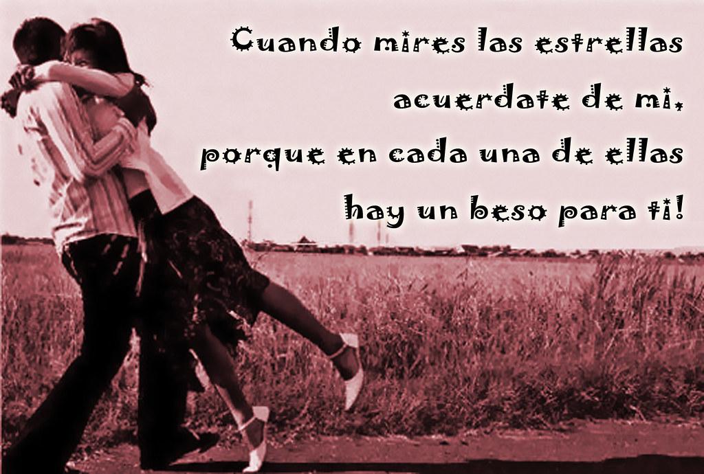 Un Beso Para Ti Ninio Romantico Cuando Mires Las Estrellas Flickr