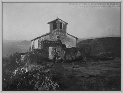 Ermita de Sant Bartomeu de Mont-ras (any 1962), Bigues (el Vallès Oriental)