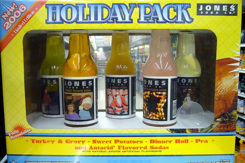 Jones Soda Holiday Pack Thanksgiving Flavors | by gregmeyer