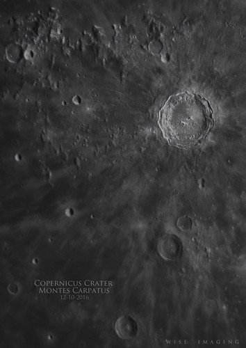 CopernicusCrater_MontesCarpatus_12102016   by Mwise1023