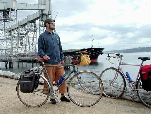 Me, Bike, Large Boat (014) | by Patrick Barber