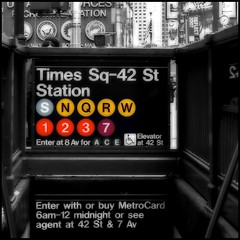 Times Square Subway   by andy in nyc