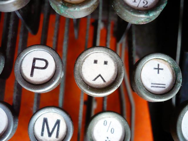 17 août 2007 Machine à écrire Mercedes Benz Détail (6)